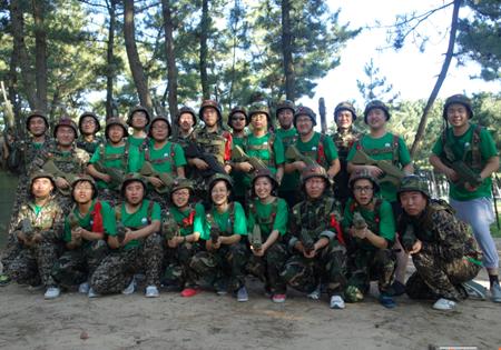 熔炼团队,提升自我---记山东石化青岛拓展活动